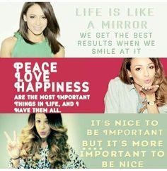 Quotes of Danielle Peazer (: ❤