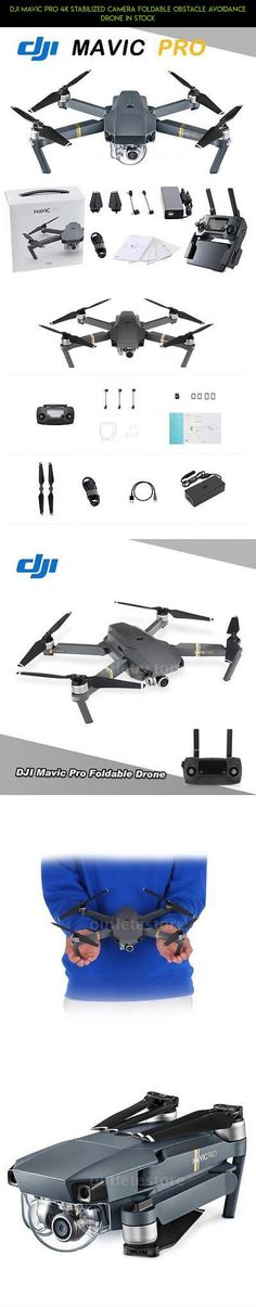 DJI Mavic Pro 4K Stabilized Camera Foldable Obstacle Avoidance Drone In Stock #plans #parts #tech #4k #gadgets #mavic #products #shopping #pro #camera #kit #fpv #drone #drone #racing #technology