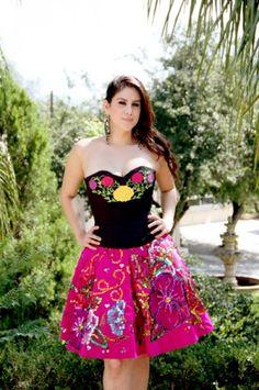 charro dresses para damas - Google Search