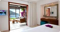 Superior Double Room with Large Terrace (A) hillside beach club