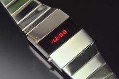 Novus LED Retro Watches, Old Watches, Vintage Watches, Watches For Men, Watch Room, Nerd Chic, Led Watch, Rolex Submariner, Seiko