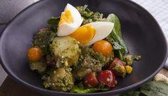Pesto, Potato and Egg Salad