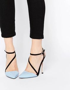 These heels are kind of weird but I like them with those pants!