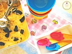 Coffee icecream with oreo cookies