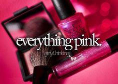EVERY THING PINK! http://media-cache-ak2.pinimg.com/originals/bd/b0/ff/bdb0ff66f041a8eb627409413434f86b.jpg