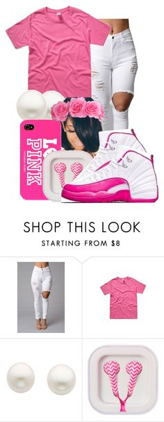 """""""❤I'm Crushing❤"""" by honey-cocaine1972 ❤ liked on Polyvore featuring Reeds Jewelers, Victoria's Secret PINK, women's clothing, women, female, woman, misses and juniors"""