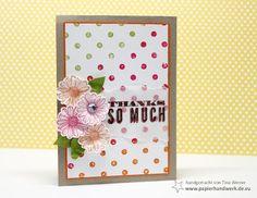 - Papierhandwerk -: Distressed Dots, Stampin Up Best of, colourQ & chic challenges