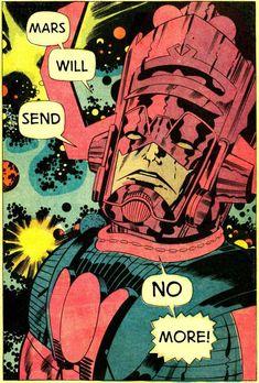Origin of Galactus by Jack Kirby