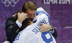 Selänne  - Kurri, Legends Ice Hockey Teams, Wayne Gretzky, Finland, Legends, Sports, Hs Sports, Sport