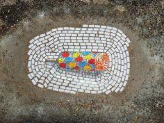 Street art: Jim Bachor's pothole mosaics in Chicago