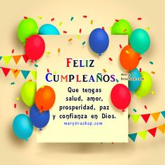 frases cristianas cumpleaños salmo Happy Birthday Ecard, Birthday Messages, Birthday Wishes, Spanish Birthday Cards, Bday Cards, Happy B Day, Holiday Wishes, Love Gifts, Dormitory