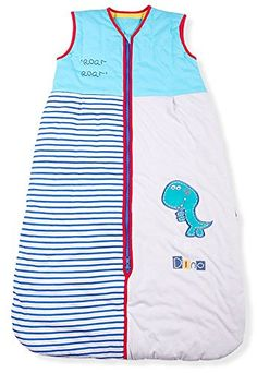 Mr. Sandman Dinosaur Baby/Toddler sleeping bag Summer Weight 1.0 Tog, Size 3: 12-36 Months - $38.99