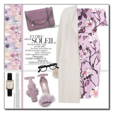 """""""Liliac !"""" by emapolyvore ❤ liked on Polyvore featuring Max & Moi, Steve Madden, STELLA McCARTNEY, Chanel, dress, Elegant and liliac"""