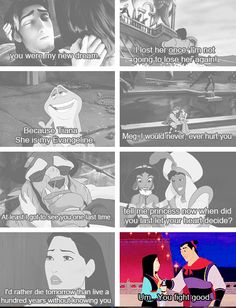 And this is why Mulan is the best.