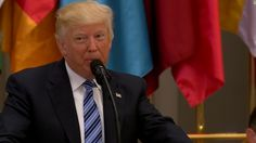 Riyadh, Saudi Arabia (CNN) — Few might have expected that four months into his term President Donald Trump would find himself addressing a room of Muslim leaders after a night surrounded by dancing, drumming Saudi men.But there he was Sunday, standing at the front of a vast reception hall, declaring