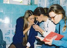 vicemag:  Ukrainian Schoolgirls and Their Dreams of 'Clueless'  My name is Kristina Podobed, I am a photographer from Odessa, Ukraine. My friends and I did a shoot about the Ukrainian school life. We will be very glad if you can use it in any way! See the photos