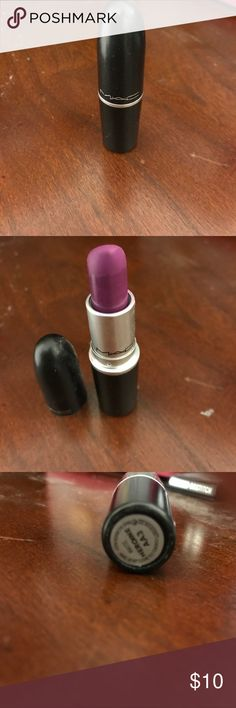 Mac Heroin Lipstick In gently used condition. Lipstick will be sanitized before sending out. MAC Makeup Lipstick