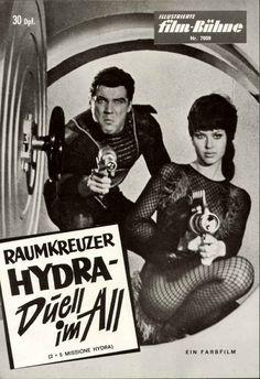 2+5: Missione Hydra directed by Pietro Francisci (1965) (via retro_futurism:)