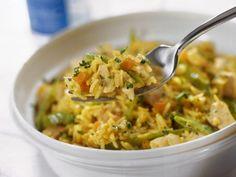 Basmati con pollo e curry