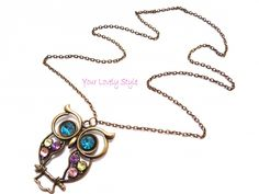 Colorfull Owl | Kettingen | Your Lovely Style