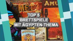 Top 5 Brettspiele mit Ägypten-Thema