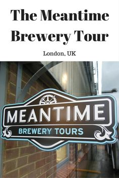 If you're a beer lover in London the Meantime Brewery Tour is something for you.