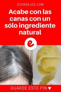 Teñir cabello naturalmente | Acabe con las canas con un sólo ingrediente natural | Acabe con las canas con un sólo ingrediente natural.