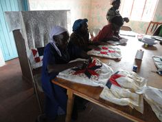 The widows at the Widow Care Center doing quilting. Quilting, Africa, Hands, Organization, Getting Organized, Organisation, Scraps Quilt, Tejidos, Patchwork