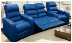 Unveiling the world of comforts and panache with MILLOR Recliner by Virendra… Living Room Home Theater, Home Furniture Shopping, Recliners, Home Cinemas, Environment, Relax, Cushions, Space, Chair