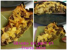 gâteau au pain et fruits secs