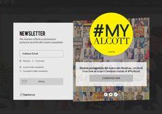 #MyAlcott by #3d0 Digital Agency The best #Fashion at the best price! #alcott #moda #website #design #social marketing #community