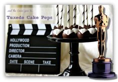 Cake Pops Recipe: Bella Baker Oscar Tuxedo Chocolate Cake Pop  Red Carpet Bow Tie Cake Pops Recipes - homemade cake balls from scratch recipe