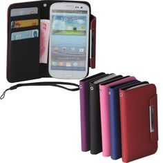 New PU Leather Card Wallet Flip Case Cover For Samsung Galaxy S 3 III S3 i9300  Best item ever seen, with very good price! Recommend!