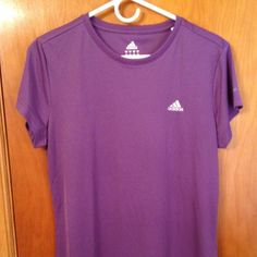 Adidas Sport Top - Purple Purple exercise top - Adidas Brand. Adidas Tops