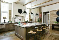#Kitchen Rustic meets new