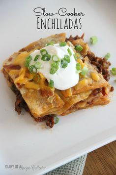 Slow-Cooker Enchiladas (EASY)