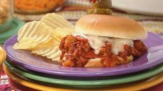 Serve two kid favorites in one with pizza sauce, pepperoni, and more added to ground beef sauce for sandwich buns.