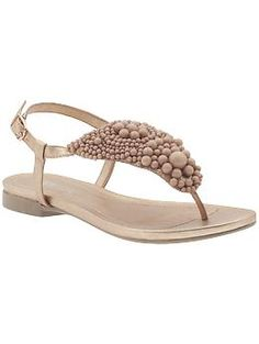 """Elegant sandals with a heel strap and a tiny heel...can't chase a 3 year old in a spike heel all the time...these are Kenneth Cole Reaction's """"Got The Shine"""" sandal on piperlime.com..."""