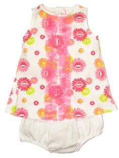 Baby / Infant Girls 2 Piece Sock Monkey Diaper Cover Dress Outfit by Baby Starters - Pink - 3-6 Mths / 12-16 Lbs Baby Starters http://www.amazon.com/dp/B00BX2IXOO/ref=cm_sw_r_pi_dp_oOKUub1GXKDJS