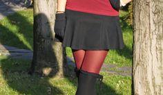 The Vanity Secret: Over The Knee Socks For Little Red Riding Hood