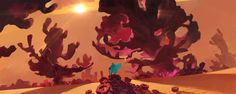 ArtStation - 珊瑚沙漠, YU YIMING