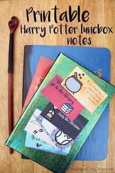 Printable Harry Potter lunchbox notes for back to school (or back to Hogwarts!) | 8 awesomely geeky designs, free download to print at home.