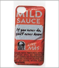 taco bell iphone case