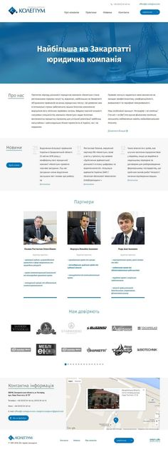 Web site for a a Law firm #corporate #website #graphic #design #web #ui #ux #joomla #goldweb #marketing