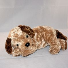 "2002 Ty Classic ""Scrapper"" the Brown Puppy Dog Plush"