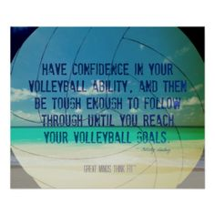 Beach #Volleyball #Quote Poster 017 for Motivation > Sold > #Thanks and Enjoy!