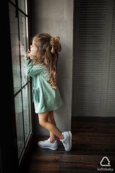 Замшевое платье для девочки, 2 500 Р #kidtobaby