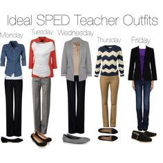 """Ideal Special Ed Teacher Outfits"" by swimmergirl018 on Polyvore"