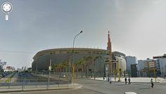 Así se ve el #EstadioNacional #Lima desde el #Google #StreetView . #Depor
