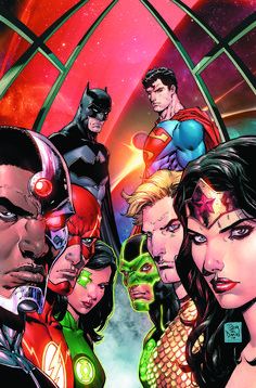 The Rebirth Justice League artist talks about working with Bryan Hitch, his favorite characters and the size of scope of his and Hitch's early storylines.